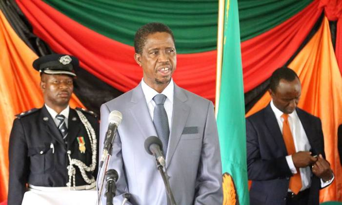 President Lungu Targets Creation Of 500,000 Youth Jobs In 2016