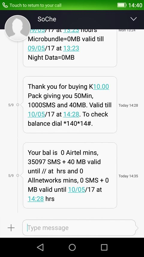 A Thief Among Us: AIRTEL Zambia Steal From Zambian