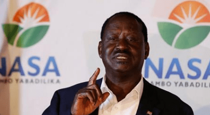 Raila Odinga Cries Foul: Elections Have Been Hacked