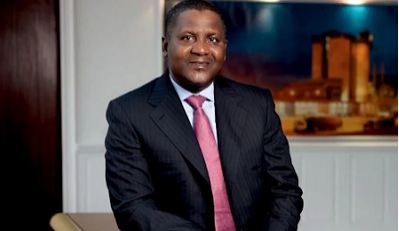 Aliko Dangote World's 100th Richest Person