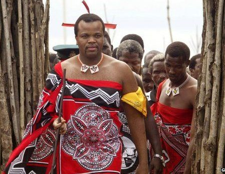 King Mswati Changes Name Of His Country From Swaziland To ESwatini, Weeks After His Wife Committed Suicide