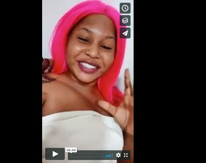 Anita Zanji Takes Video of Herself After Bonking Another Man At Unknown Lodge To Make Chellah Angry