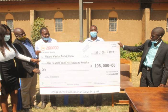 Councillor donates K100,000 towards televised SDA church services