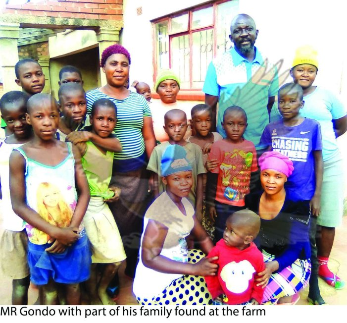 Meet Zambian Man With 12 Wives And 32 Children