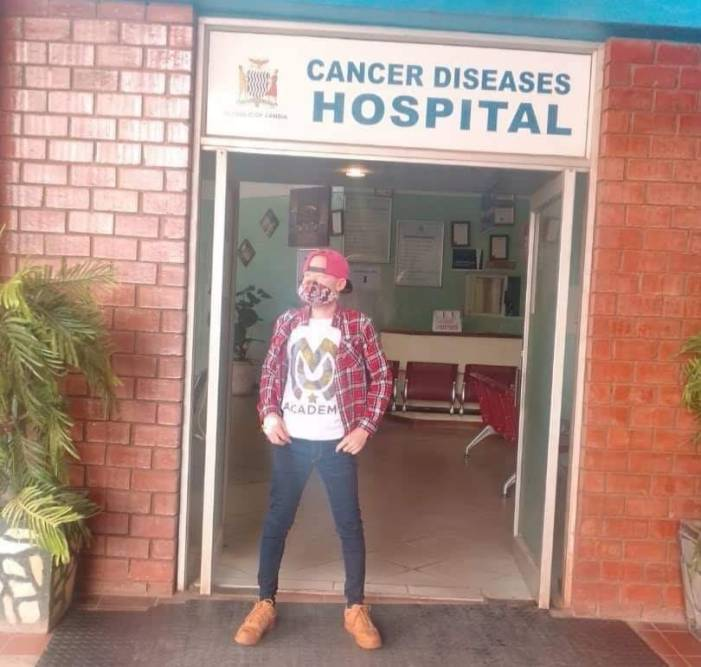 Malawian musician in Zambia for cancer treatment