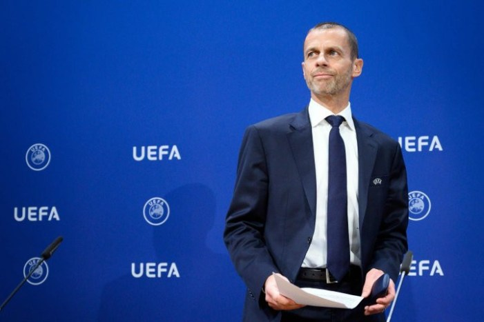There's a 'small possibility' Chelsea and Real Madrid's Champions League semi-final will not go ahead as punishment for their roles in European Super League, says UEFA chief Ceferin