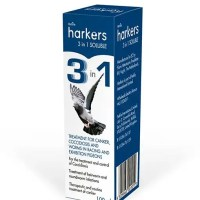 Harkes 3 in 1 soluble cocci, canker, worms
