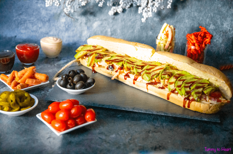 T2h Sandwich - The Perfectly filling meal – Subway style