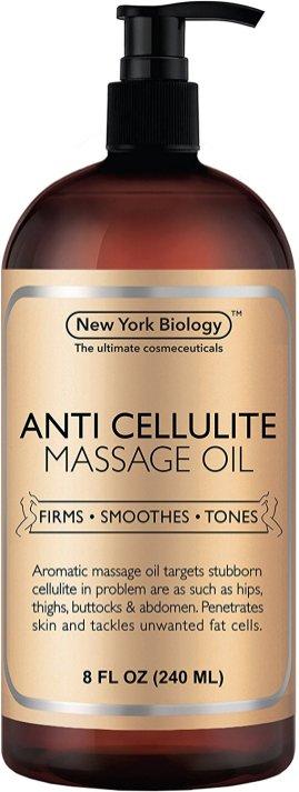 The Anti Cellulite Treatment Massage Oil Jar