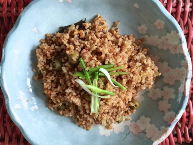 olive samba rice
