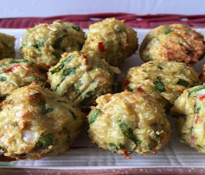 Spinach & Chicken Meatballs