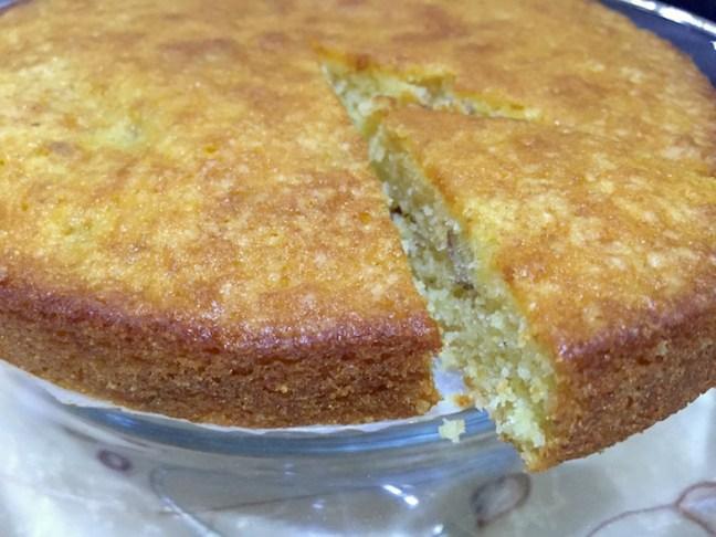 sooji butter cake 1