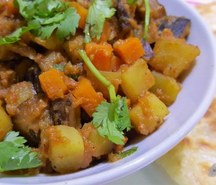 Mushroom and Vegetable Curry