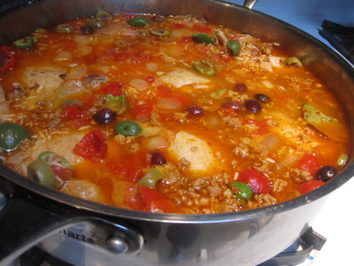 Simmering - Every Woman's Paella