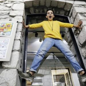 Artyom Abrahamyan: A Walking Advertisement for Film Fridays in TUMO Stepanakert