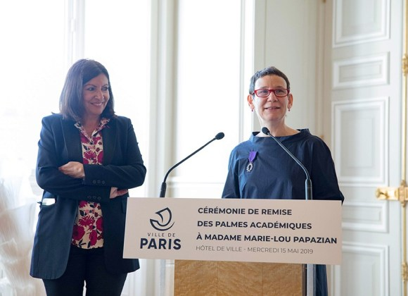 TUMO CEO Marie Lou Papazian Knighted by the Ordre des Palmes Académiques