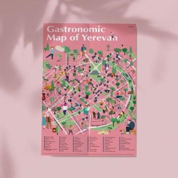 Yerevan Gastronomy Map with Evgenia Barinova