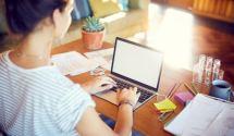 Organizzare uno spazio di lavoro in casa quando non c'è lo studio