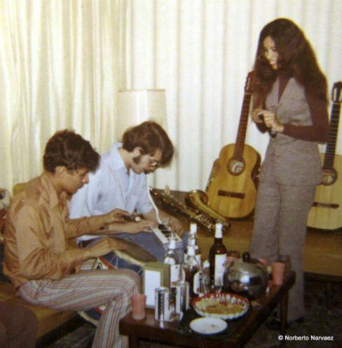 Luis Díaz, Pedro y Cynthia