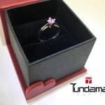 anillo en plata