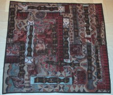 """""""The Beauty in Our World,"""" batik quilt tapestry (BQT)"""