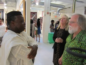 Tunde Odunlade, Sue Staples Morgan, Jake Homiak