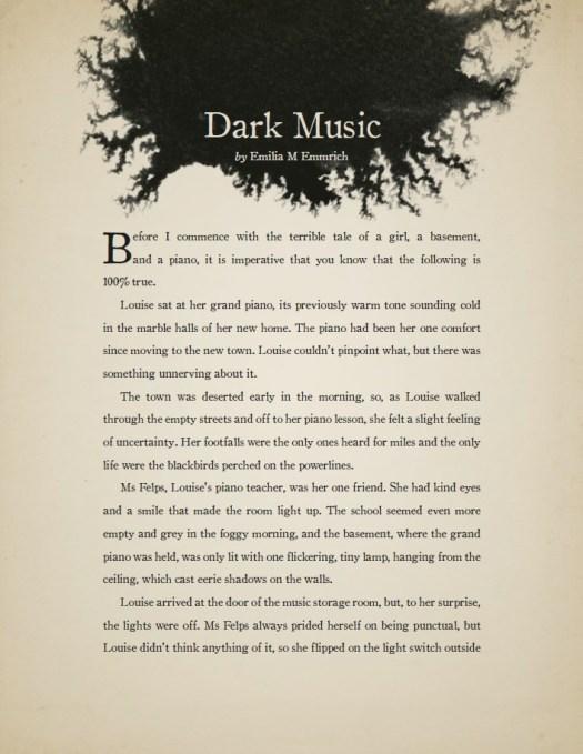 Dark Music - page 1