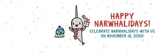 Narwhalidays-Twitter Banner