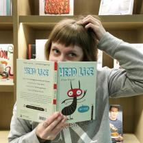 Children's Book Associate Editor got behind Head Lice