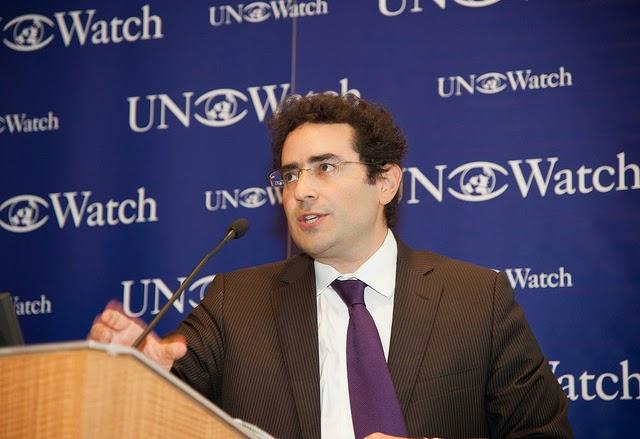 Resultado de imagen para UN Watch hillel neuer