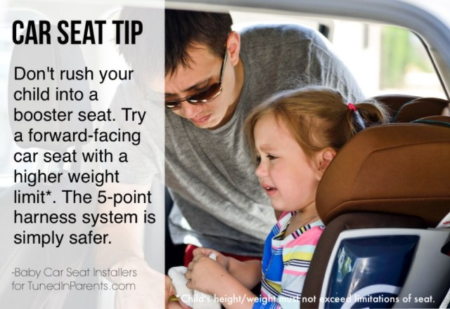 Tuned In Parents - Booster Seat Rush