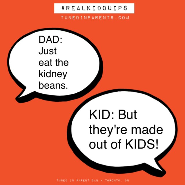 Tuned In Parents - Real Kid Quips picky eater