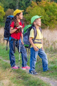 Tuned In Parents - kids hiking