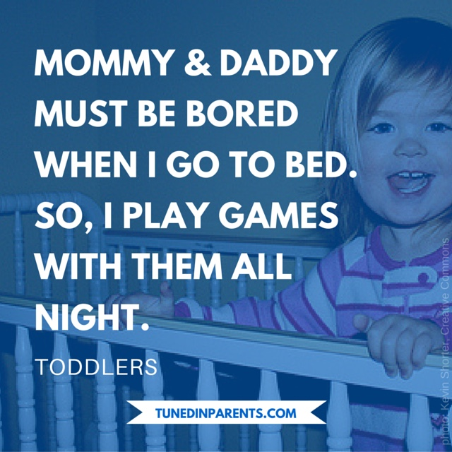 Tuned In Parents - Toddler Bedtime Humor