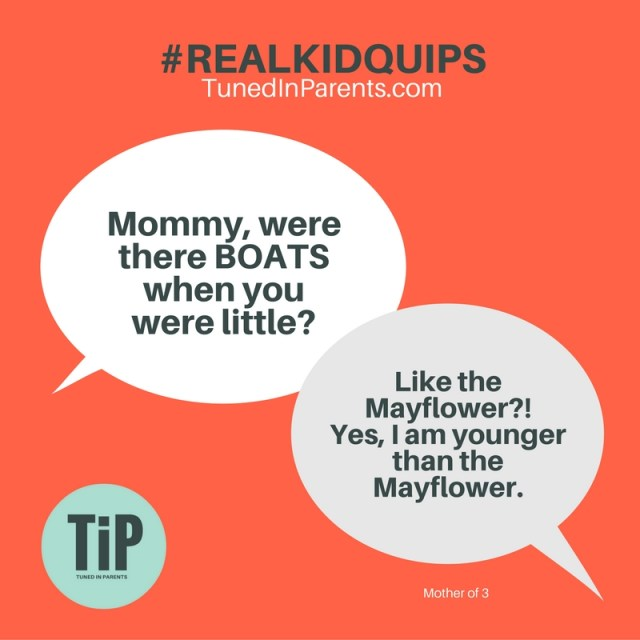 Chicken or the egg? / Mommies or the Mayflower?