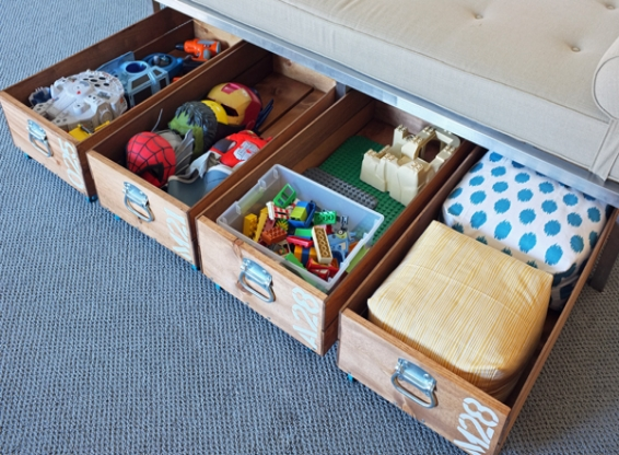 10 Types Of Toy Organizers For Kids Bedrooms And Playrooms: 10 Innovative Toy Storage Ideas To Rescue Your Home
