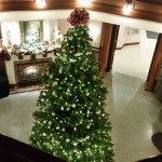 Holiday Decor at the Hotel Winn