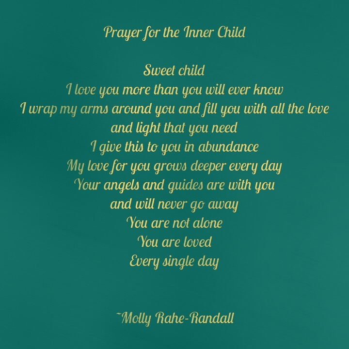 Prayer for the Inner Child