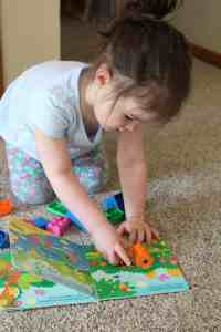 Read and Build Legos for Toddlers