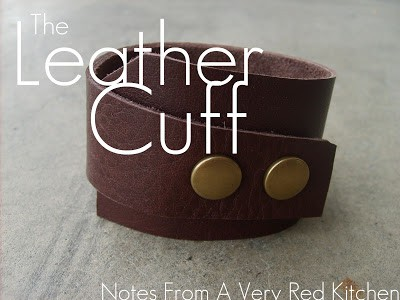 17 handmade gifts you'd actually want: The Leather Cuff