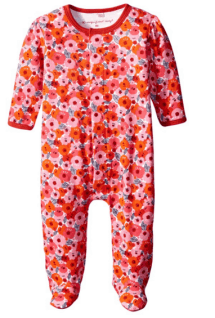 2015 Gift Guide - Magnificent Baby Baby-Girls Poppie Print Footie