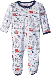 2015 Gift Guide - Magnificent Baby Baby-Boys Tally Ho Footie