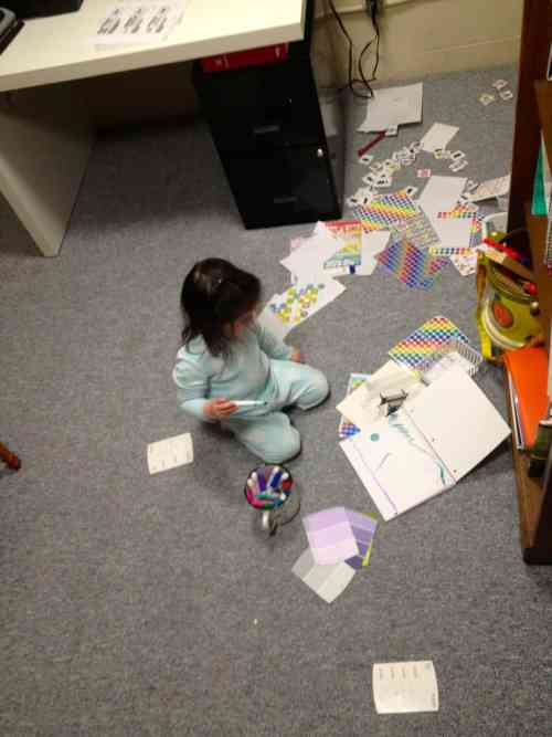 Lessons I've Learned From My Kids: God helps us clean up our messes.