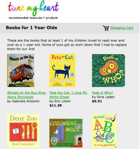 Favorite Books for 1, 2, and 3 Year Olds [Friday Favorites]