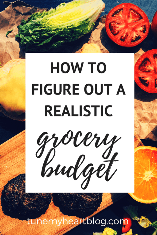 how to figure out your grocery budget and track your grocery spending!