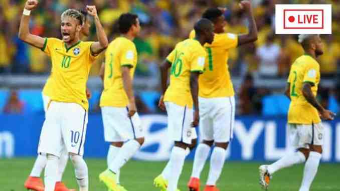 Brazil vs Colombia 2021 Live