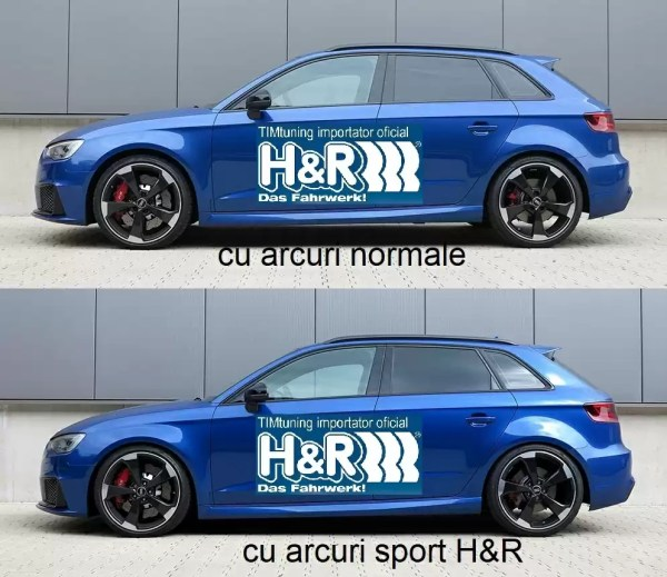 Arcuri sport H&R tunershop.ro pentru toate modelele de masina