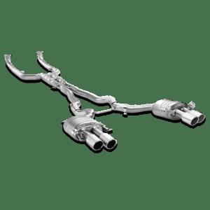 Evacuare Akrapovic Evolution Line (Titanium) BMW M6 Gran Coupé (F06) 2013 - 2018