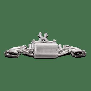 Evacuare Akrapovic Evolution Line (Titanium) Mercedes-AMG Coupé GT / GT S / GT C 2015 - 2018