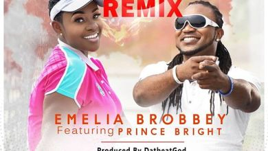 Photo of Emelia Brobbey – Fa Me Ko (Remix) Ft. Prince Bright (Prod. by DatbeatGod)